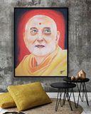 Original Indian saint paint