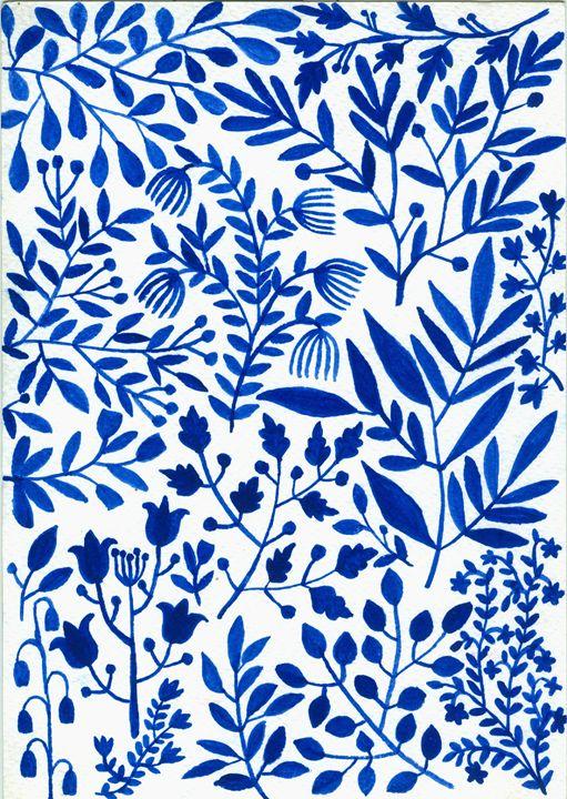 Blue Garden - pausebyrush