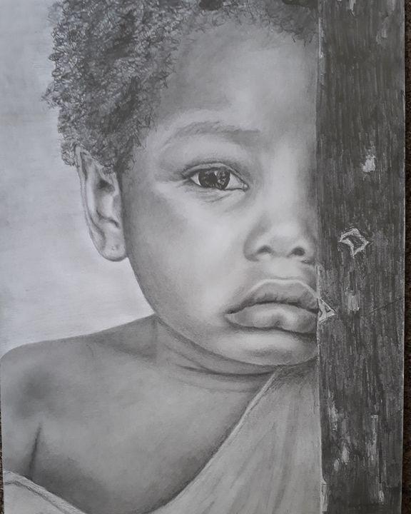 Little girl - Anni's Art