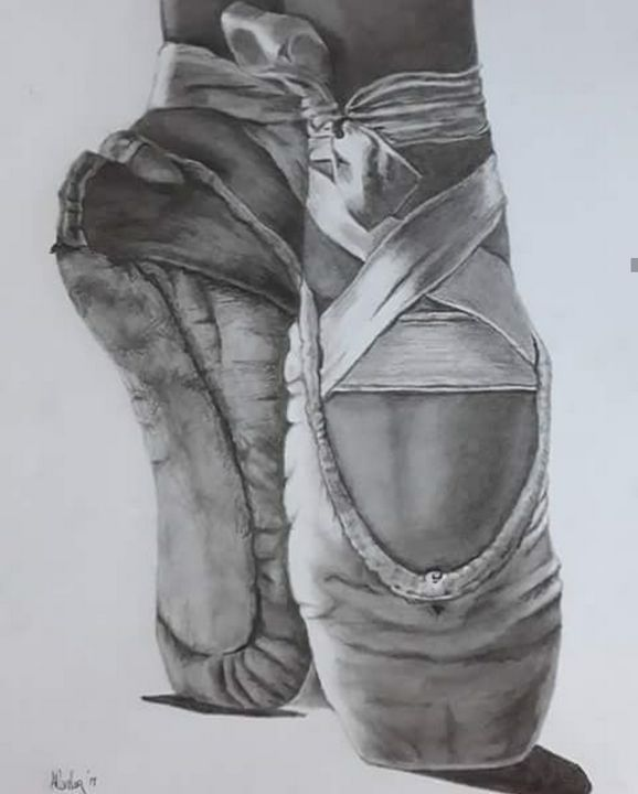 Dancer's  Feet - Anni's Art
