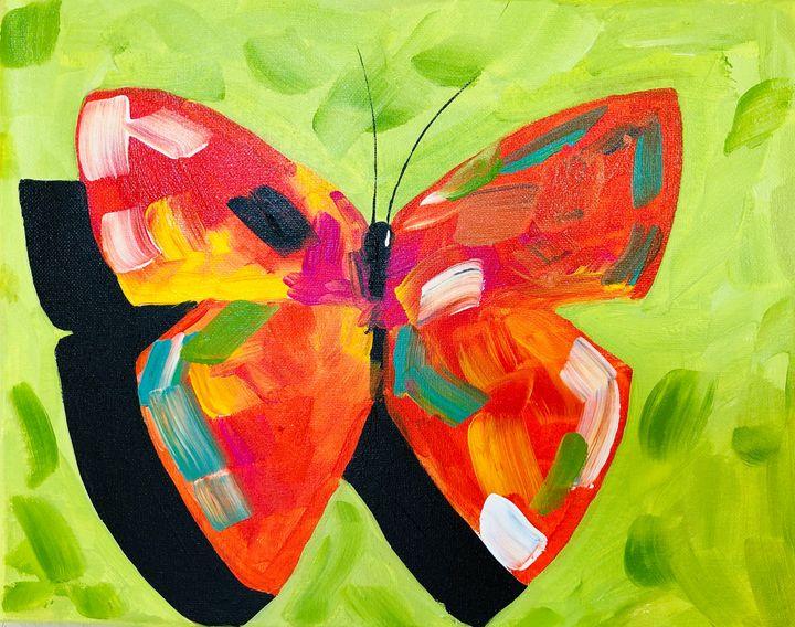 Butterfly Art - Nisha Ghela