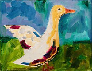 Abstract Duck Art