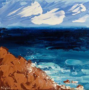 Original Abstract Seascape