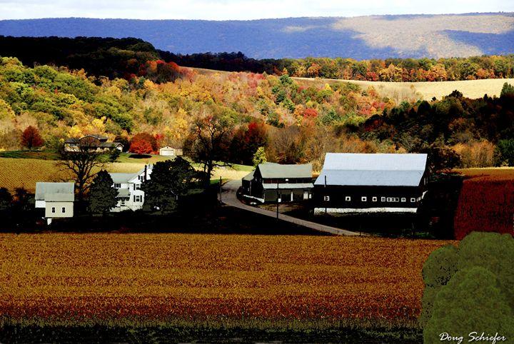 White Church Farm - Dougs Art