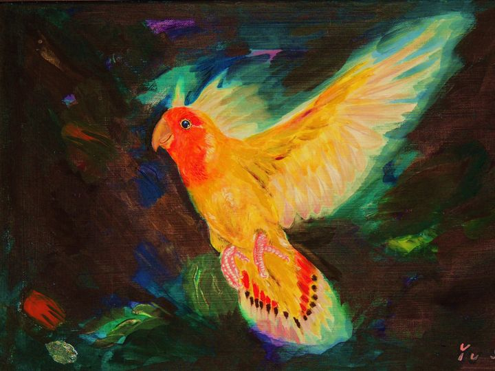 Parrot - Sun's Fine Art Gallery