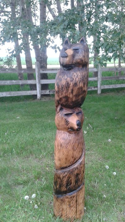 Family cochrane creations chainsaw carving sculptures & carvings