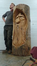 Cochrane Creations Chainsaw Carving