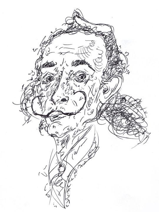 Salvador Dali - Sketches by Spencer