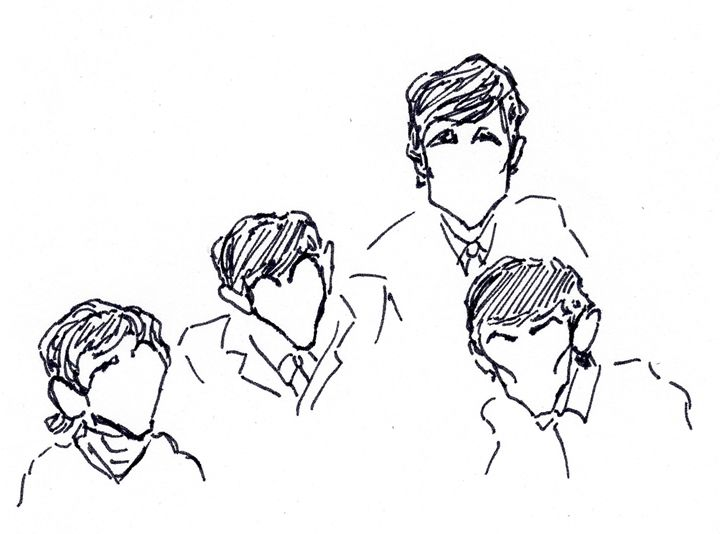 The Beatles - Sketches by Spencer