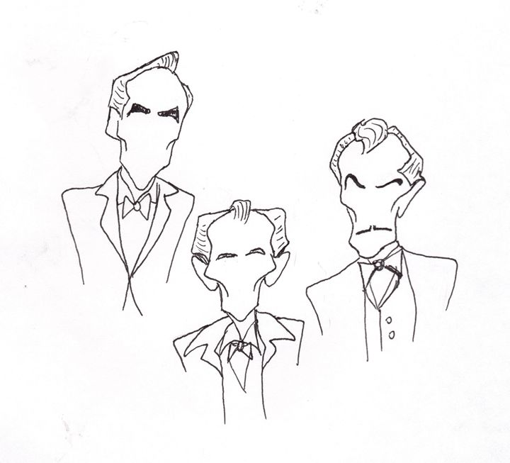Lee Cushing Price - Sketches by Spencer