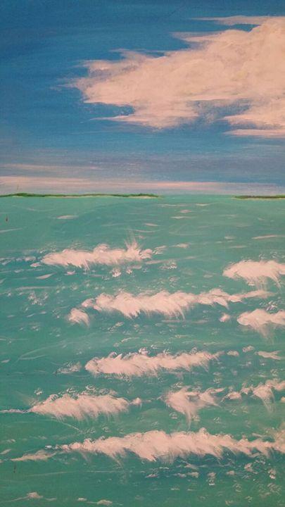 Blue Waters - Art by Nazarine