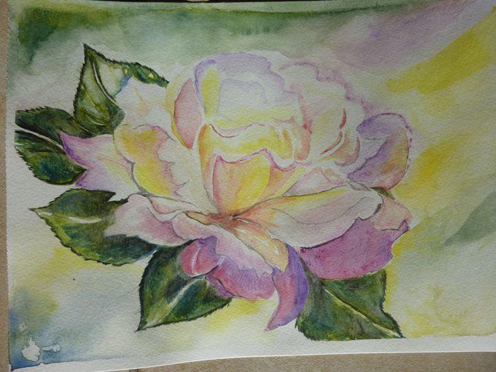 Rose lumineuse - Manon