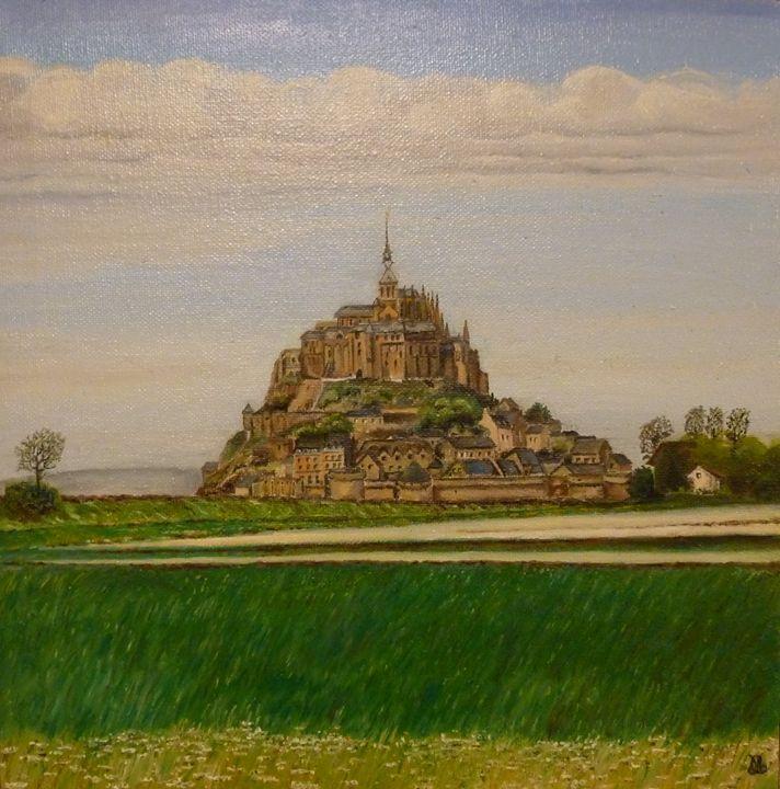 La mont Saint-Michel au printemps - Manon