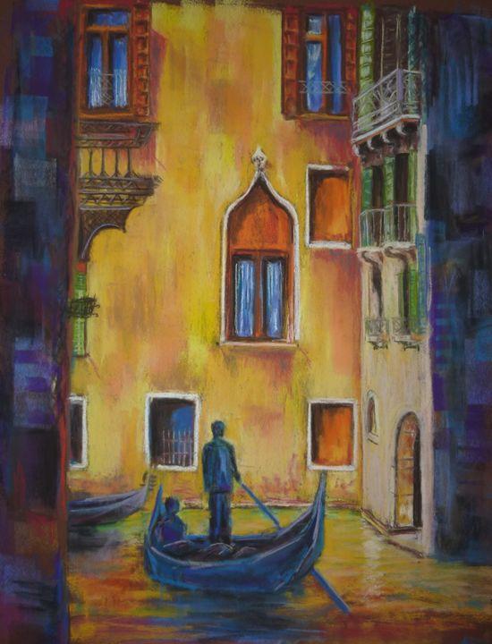 Gondole à Venise - Manon