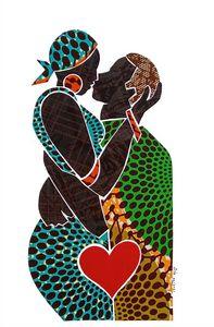 My Love 1 / Kiss / Original Fabric C