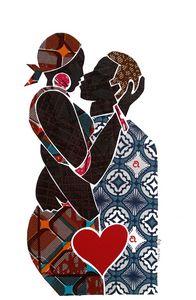 My Love 5 / Kiss / Original Fabric C