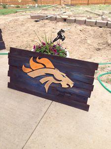 Denver Bronco Flag