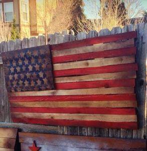 American Flag Faded Glory WW2