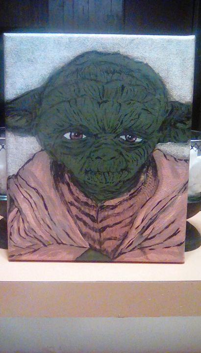 Master Yoda - Samantha's Art