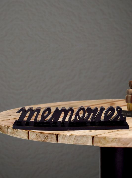 Wooden Alphabet Letter Meteorite Col - Wowtrendy
