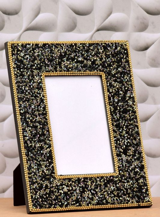 Photo Frame Golden And Phantom Color - Wowtrendy