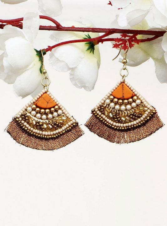Handmade Artificial Earrings Cathay - Wowtrendy
