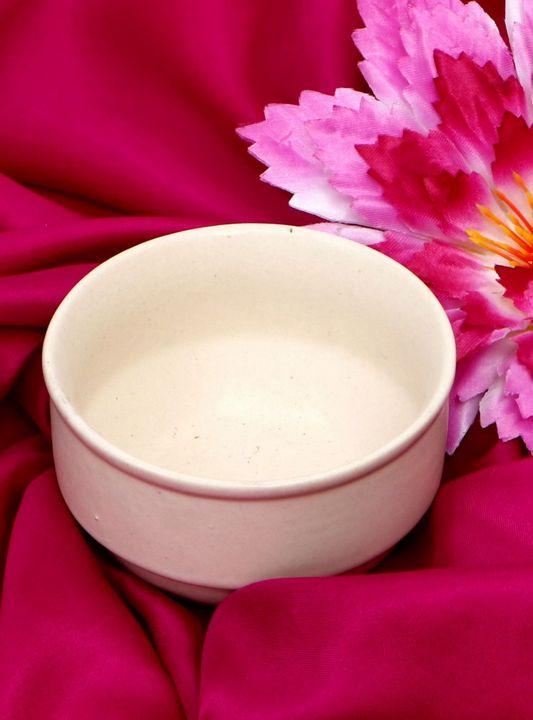 Ceramic Bowl Cream Color - Wowtrendy