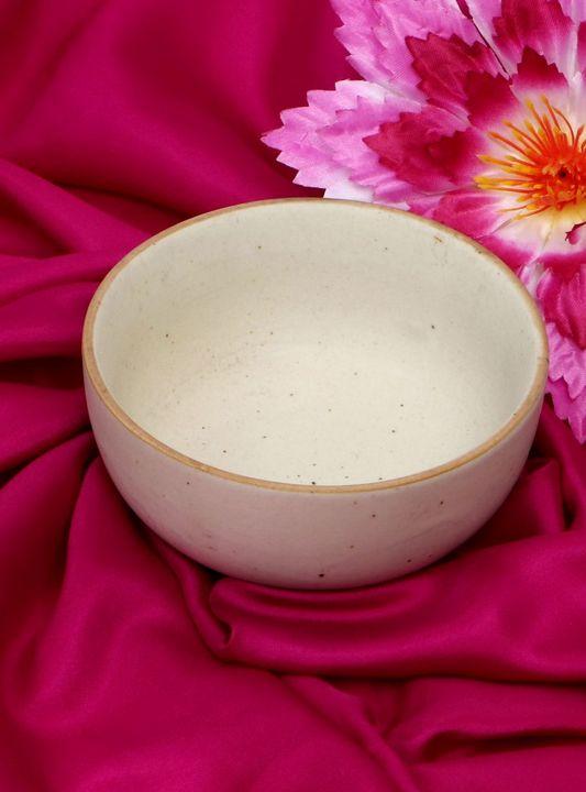 Ceramic Bowl Alabaster Color - Wowtrendy