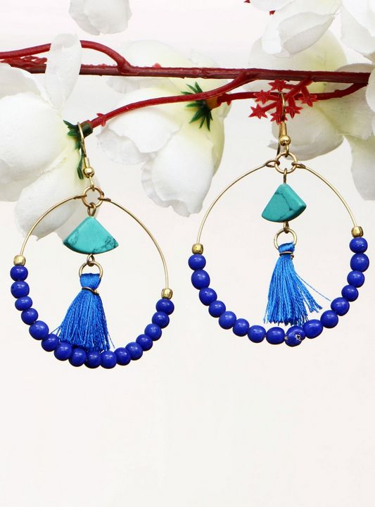 Handmade Artificial Earrings Skydive - Wowtrendy