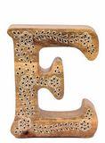 Wooden Alphabet Letter Golden Fleece