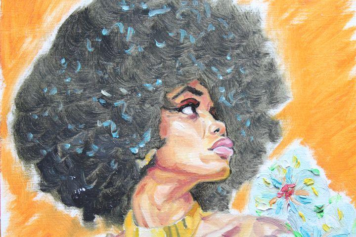 Afro Empress - Dashell Arts