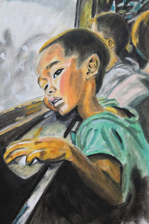 Train Ride - Dashell Arts