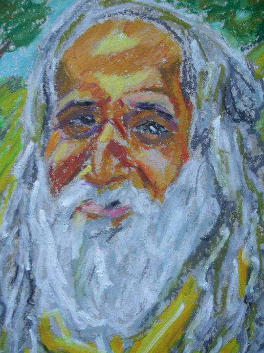 Old Rasta man - Dashell Arts