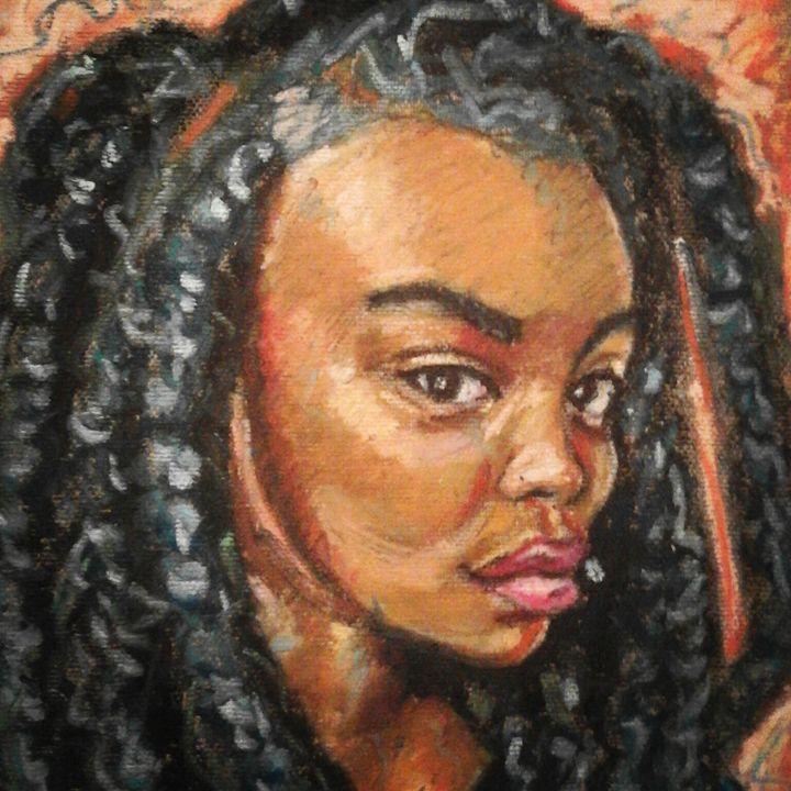 Opp Beautiful  with Attidue BWA - Dashell Arts
