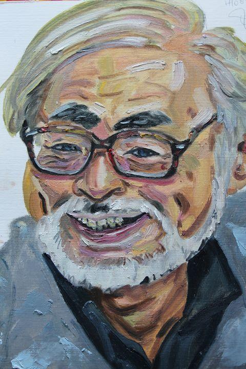 Hayao Miyazaki - Dashell Arts