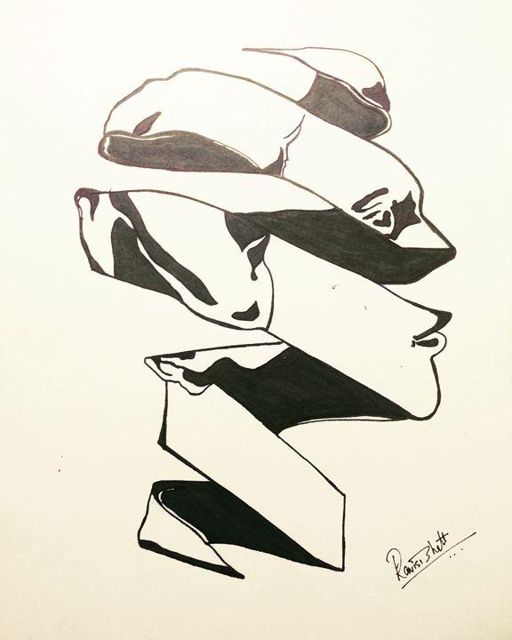 Ribbon face! - Ravi