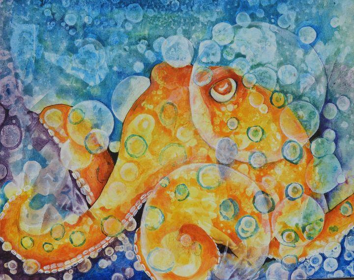 Horatio, Blue-ringed octopus - Anna Kekesi-Kim