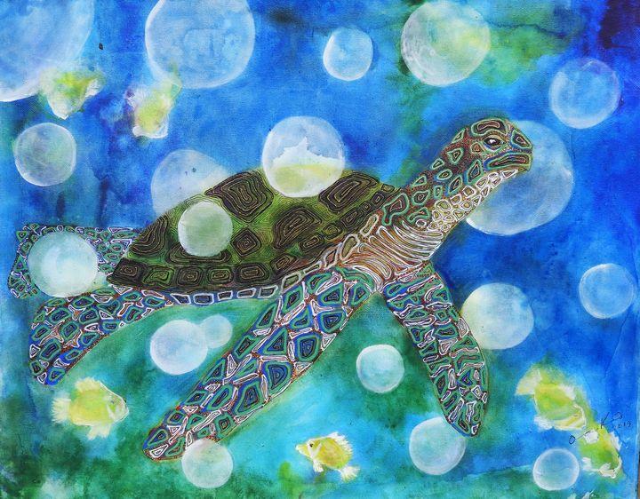 Turtle Dreams - Anna Kekesi-Kim