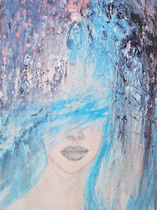 M Blue - Mag's Art Gallery