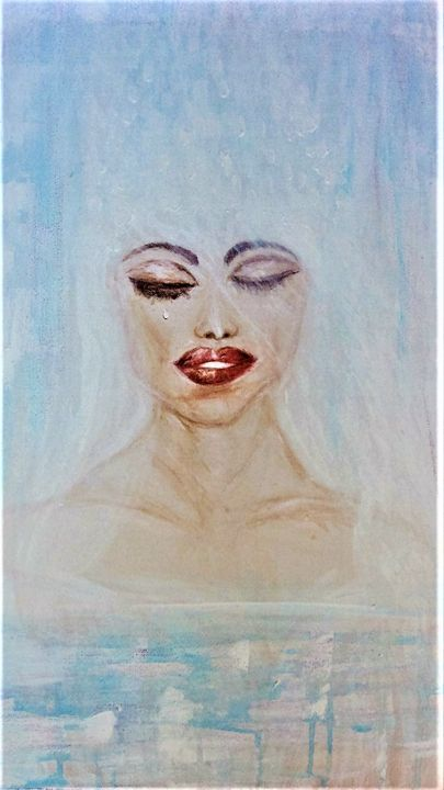 The Bride II - Mag's Art Gallery