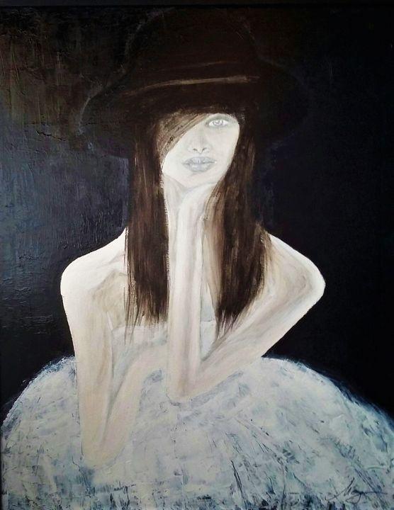 Pondering - Mag's Art Gallery