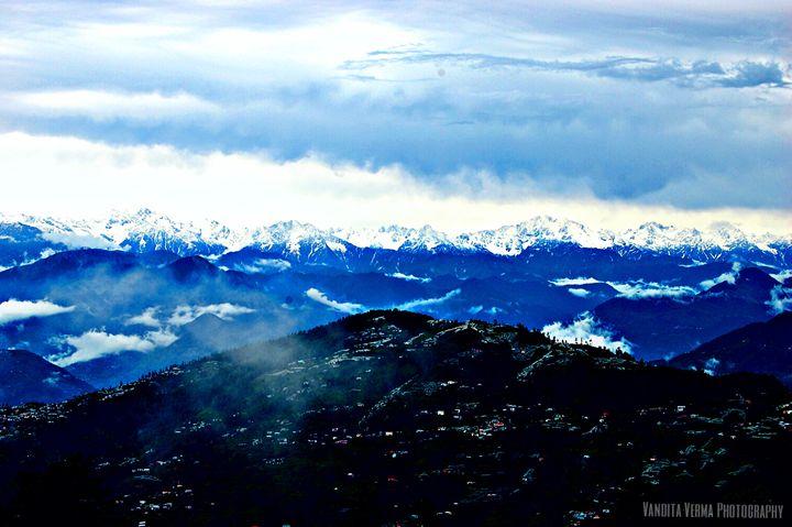 Snow peaks landscape - OrionArt