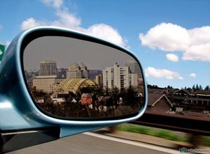 Cincinnati in my rear view mirror