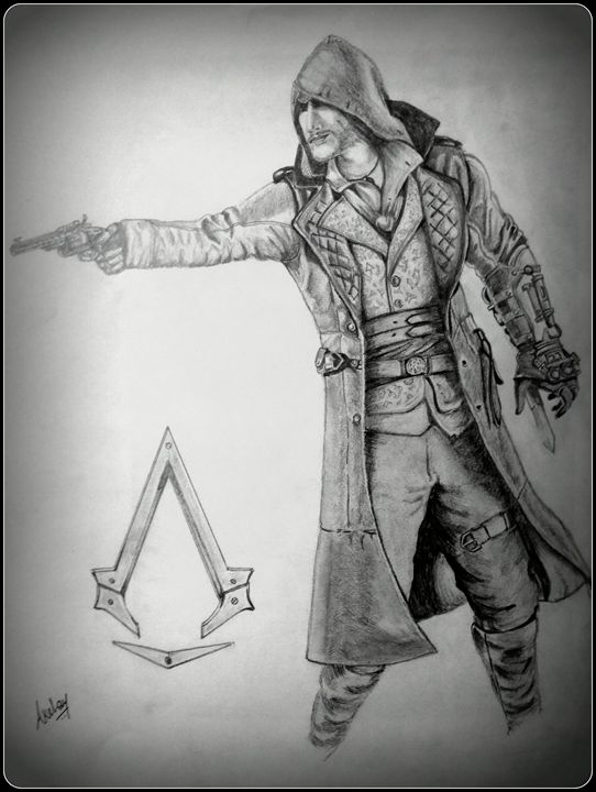 Jacob Frye Assassin S Creed Art Akshay Jadhav Drawings Illustration People Figures Animation Anime Comics Other Animation Anime Comics Artpal