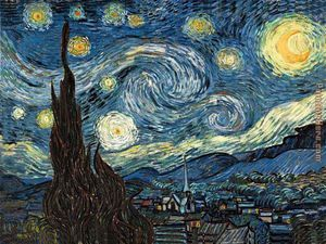"""""""Starry Night"""" by Vincent Van Gogh"""