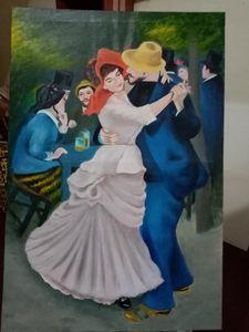 """Dance at Bougival"" by Renoir"
