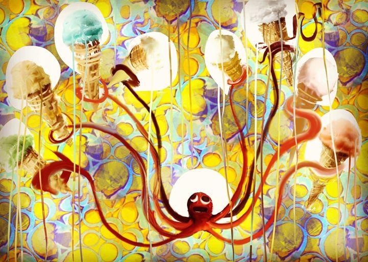 Ice cream-ta-pus - Aaron leonard gall