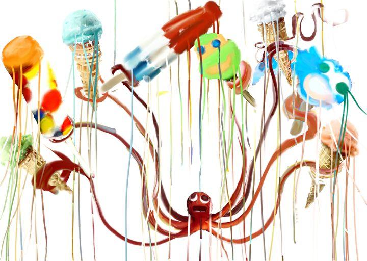 Ice cream-ta-pus ver 2 - Aaron leonard gall