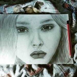 my first pencil art