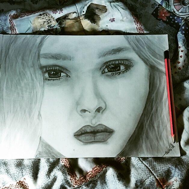 my first pencil art -  Slee87005